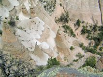 """Formations de roche """"de falaise blanche """"de porte-malheur de Kashe Katuwe photo stock"""