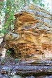 Formations de roche au lac canyon en bois, le comté de Coconino, Arizona, Etats-Unis Photos stock