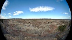 Formations de roche au parc provincial d'Ischigualasto photo libre de droits