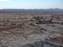 Formations de roche au parc provincial d'Ischigualasto images libres de droits