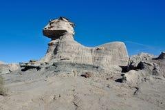 Formations de roche au parc provincial d'Ischigualasto image libre de droits