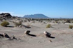 Formations de roche au parc provincial d'Ischigualasto photos libres de droits