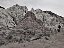 Formations de roche de Canyon Road de peuplier images libres de droits
