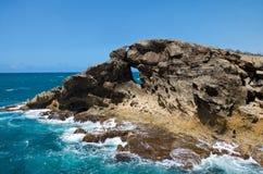 Formations de roche chez Cueva del Indio Photo libre de droits