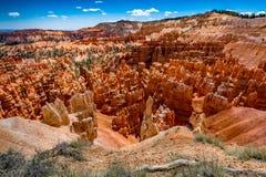 Formations de roche colorées de porte-malheur en Bryce Canyon National Park, U image stock