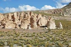 Formations de roche curieuses de Images stock