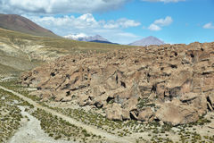 Formations de roche curieuses de Image libre de droits