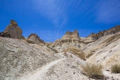 Formations de roche dans Calingasta photo libre de droits