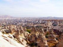 Formations de roche dans Capapdocia, Turquie photo stock