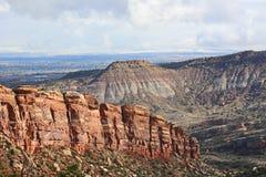 Formations de roche dans le Colorado nanomètre Photo libre de droits