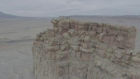 Formations de roche dans le Colorado occidental banque de vidéos