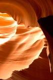 Formations de roche de canyon d'antilope Photo libre de droits