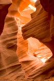 Formations de roche de canyon d'antilope Photographie stock libre de droits