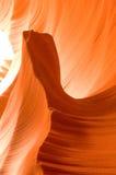 Formations de roche de canyon d'antilope Image libre de droits