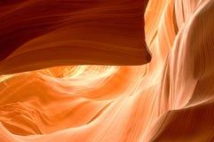 Formations de roche de canyon d'antilope Images stock