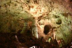 Formations de roche de cavernes de Carlsbad Images libres de droits