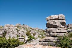 Formations de roche de chaux Images libres de droits