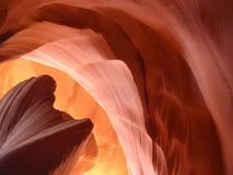 Formations de roche de gorge d'antilope Photo stock