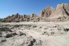 Formations de roche de grès Photographie stock