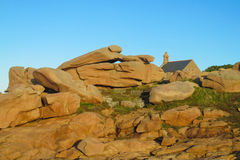 Formations de roche de granit photographie stock
