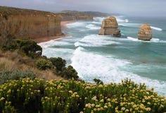 Formations de roche de l'Australie Images libres de droits