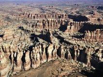 Formations de roche de l'Utah. images stock