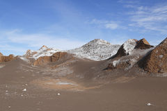 Formations de roche de la vallée de lune Photo stock