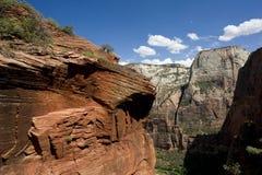 Formations de roche de Zion images libres de droits