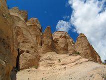 Formations de roche du porte-malheur de Kashe Katuwe image stock