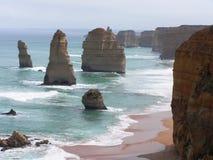 Formations de roche en Australie Photos libres de droits