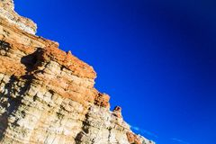 Formations de roche en pierre rouges image libre de droits