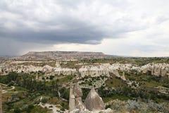 Formations de roche en vallée d'amour, Cappadocia Image stock
