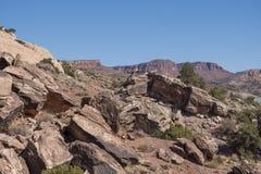 Formations de roche Etats-Unis photo libre de droits