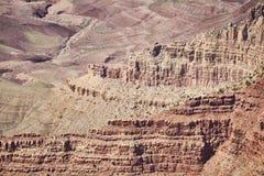 Formations de roche de Grand Canyon, Etats-Unis images libres de droits