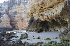 Formations de roche intéressantes de grès photographie stock