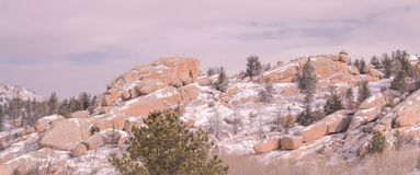 Formations de roche de Milou chez Vedawoo photo libre de droits