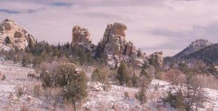 Formations de roche de Milou chez Vedawoo photos libres de droits