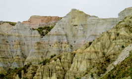 Formations de roche près de La Paz en Bolivie photo stock
