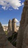 Formations de roche préhistoriques devant le velley d'amour en Turquie SH Photo libre de droits