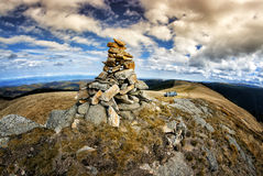 Formations de roche rares Image stock