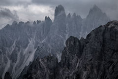 Formations de roche rares Images stock