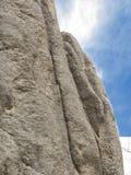 Formations de roche, route d'aiguilles, le Dakota du Sud image stock