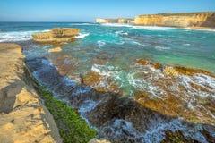 Formations de roche, Victoria Australia image stock