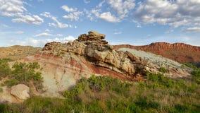 Formations de tours et de grès de roche Image libre de droits