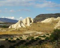 Formations de tuf dans Cappadocia Photographie stock