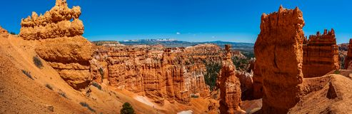 Formations géologiques en Bryce Canyon National Park Photos stock