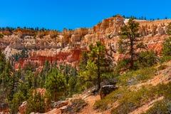 Formations géologiques en Bryce Canyon National Park Photographie stock libre de droits