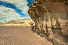 Formations géologiques en stationnement de Timna, Israël photographie stock libre de droits