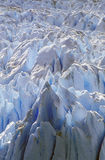 Formations glaciales de Perito Moreno Glacier chez Canal de Tempanos dans Parque Nacional Las Glaciares près d'EL Calafate, Patag Photos libres de droits