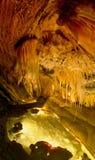 Formations intéressantes de caverne Photographie stock